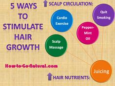 How to Stimulate Hair Growth: 5 Easy Tips