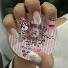 Cute Nail Art, Beautiful Nail Art, Cute Nails, Pretty Nails, Nail Spa, Manicure And Pedicure, Hair And Nails, My Nails, Dream Catcher Nails