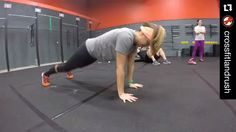 #Repost @crossfitlandrush with @repostapp.  It's push-up month at CrossFit LandRush! Take a few mins each time you come in to work on getting better at push-ups. Focus on 2 key things. 1. Keeping the hips off of the floor. Demonstrated by Brandi in the video. This helps build core strength to keep the body stable. 2. keeping the elbows tucked in. Demonstrated by Az. Imagine pushing the person across from you. Keeping the elbows tucked will engage more of the pectoral muscle to help push you…