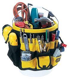 CLC Custom Leathercraft 4122 61 Pocket-In & Out Bucket Pockets - Tool Organizer - Amazon.com