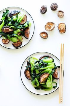 Bored of broccoli? This sautéed bok choy recipe is the perfect healthy side dish, requiring only six ingredients and 10 minutes to make. Vegan and gluten-free. Vegan Gluten Free, Gluten Free Recipes, Vegetarian Recipes, Healthy Recipes, Delicious Recipes, Clean Eating, Healthy Eating, Healthy Life, Healthy Food