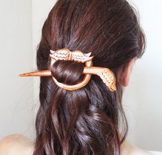the victorian angel barette hair pin shawl pin by theancientmuse
