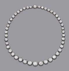 Diamond Riviere 1870s Christie's