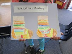 ART with Mrs. Smith: Kinder Socks