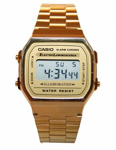CASIO GOLD WATCH. bday wish puhleaseeee :))