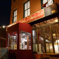 Chez Oskar's cuisine is a departure from the late-20th-century Fort Greene staples of soul food and takeout, but the restaurant honors the neighborhood's arty and multicultural atmosphere. (Photo: Richard Perry/The New York Times)