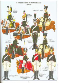 Cavalleria del principe Eugenio, vice re d'Italia