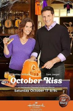 October Kiss: Hallmark Channel Presents Third Fall Harvest Movie Starring Sam Jaeger And Ashley Williams...awesome and fun movie!