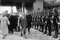 Duke of Windsor's visit to Nazi Germany in 1937.