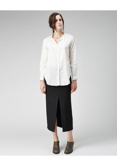 Hope / All Shirt   La Garconne    I know it's not a tee, but this number with jeans and a belt? Come on comfortable!