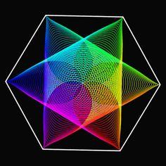 rgb hexagon
