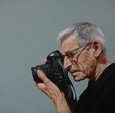 Athair céile by Alan Coulson. oil on panel