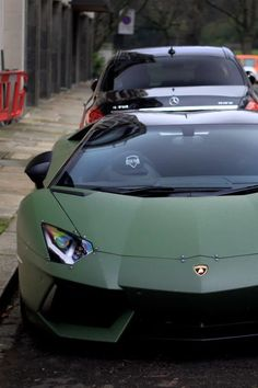 In some cases you obtain what you pay for in life, and the Lamborghini Veneno proves it by appearing on our Most Expensive Cars in the World checklist in addition to this set. Lamborghini Aventador Roadster, Green Lamborghini, Ferrari, Maserati, Bugatti, Luxury Sports Cars, Best Luxury Cars, Sport Cars, Fancy Cars