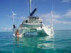 Expert Yacht Broker Gary Fretz Shows Us Why The Lagoon 440 Is The Best Cruising Catamaran In The World Catamaran Design, Sailing Catamaran, Yacht Boat, Sailing Ships, Sailing Boat, Speed Boats, Power Boats, Jet Ski, Sailboat Living