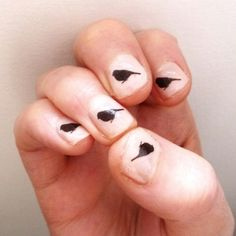 Sparrow Nail Stickers £3.00