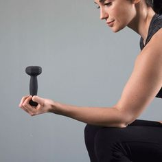 Supination with a dumbbell