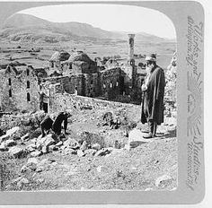 Ephesus, ruined mosque of Isa Bey on probable site of Diana's Temple, 1913