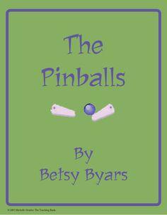 The Pinballs Novel Unit ~ Common Core Standards Aligned!