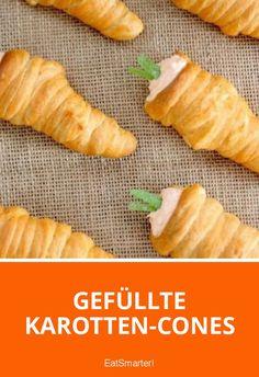 Gefüllte Karotten-Cones | eatsmarter.de