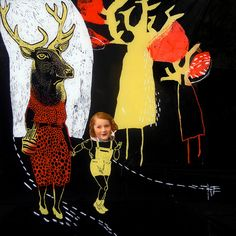 tes0t015 Cecile Perra Collages, Collage Artists, Textile Artists, Collage Drawing, Collage Art Mixed Media, Animal Magic, Cecile, Whimsical Art, Textiles