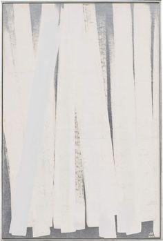祭り FATE / 900×600mm / 胡粉、銀泥、銀箔、和紙 Paris White,Silver Leaf,Silver Paint on Paper / 2000