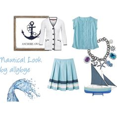 Nautical Look, created by allybye on Polyvore