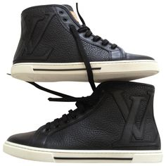 Baskets---LOUIS-VUITTON-Noir