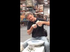 ▶ Pulling a handle with Tom Coleman -Very insightful tips, like drawing a line around handle top to allow glaze to strengthen the handle.