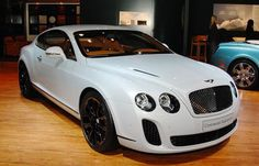 bentley continental supersports Bentleys Latest Luxury Car Shimmers