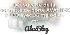 Découverte de la sonnette de porte DB-LE AVANTEK originale à LED avec 36 mélodies