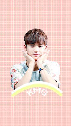 Mingyu... *-* #SEVENTEENMANIA Woozi, Jeonghan, Rapper, Kim Min Gyu, Boo Seungkwan, Mingyu Seventeen, Seventeen Wallpapers, Diamond Life, Vixx