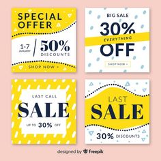 discount design Sale web banner for social media Free Vector Web Design, Website Design Layout, Web Banner Design, Email Design, Flyer Design, Web Banners, Dm Poster, Banner Design Inspiration, Promotional Design