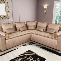 salon marocain, canape d angle style oriental - Sofamobili