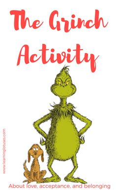 The Grinch Activity-a mindful activity for kids from Learning Lotuses