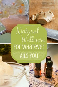 Stock your Natural Remedies Medicine Cabinet: A little of everything, from natural antibiotics for fighting infection to cough and congestion remedies to preventative methods for avoiding the sick bugs or fighting them before they get the best of you.