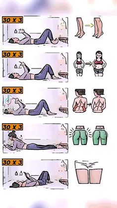 Fitness Workouts, Gym Workout Tips, Fitness Workout For Women, At Home Workout Plan, Butt Workout, Easy Workouts, Body Fitness, Workout Videos, Workout Challenge