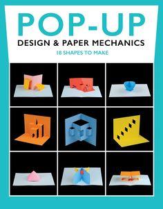 Pop-Up design and paper mechanics by Duncan Birmingham. New qui start manual, how to make pop ups, pop up cards. Arte Pop Up, Pop Up Art, Kirigami, Fancy Fold Cards, Folded Cards, Book Crafts, Paper Crafts, Paper Art, Card Tutorials
