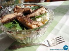 Seven-Layer Salad with Season Sardines - Gluten-free and easy to make! Get the recipe at http://glutenfreeeasily.com/dig-deep-7-layer-salad-with-sardines/! Shop for Season Sardines and more at seasonproducts.com!