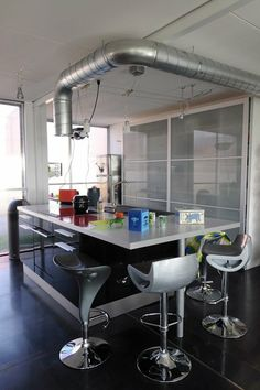 Shipping container house - kitchen