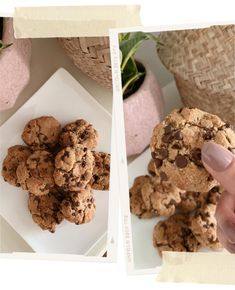 The Best Gluten Free, Paleo Chocolate Chip Cookies — Jacy Lenore Chocolate Chip Cookies Ingredients, Paleo Chocolate Chip Cookies, Dairy Free, Gluten Free, Kinds Of Cookies, Coconut Sugar, Sweets, Baking, Desserts
