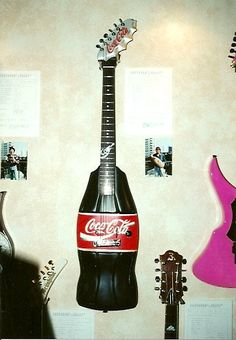 Coca Cola - this guitar is the real thing ... and very refreshing