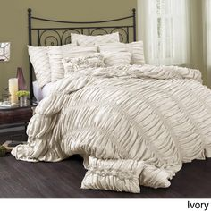 Lush Decor Madelynn 3-piece Comforter Set - Overstock™ Shopping - Great Deals on Lush Decor Comforter Sets