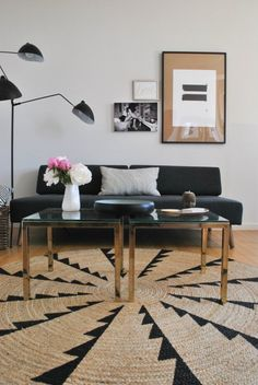 Superpowered Style: Shake Up Your Look With Some Off-Center Art -- From Sara's Scandinavian-Style Downtown Brooklyn Condo.
