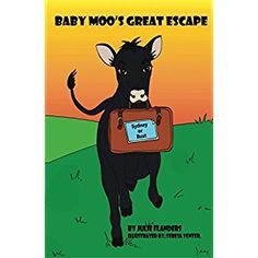 #Book Review of #BabyMoosGreatEscape from #ReadersFavorite - https://readersfavorite.com/book-review/baby-moos-great-escape  Reviewed by Rosie Malezer for Readers' Favorite  Baby Moo's Great Escape is a children's book written and illustrated by Julie Flanders. Baby Moo is a young bull who lives with many animals at Sunrise Sanctuary in Marysville. Baby Moo's favorite hobbies are to sing and to read travel magazines. When he sees a picture of the Sydney...