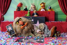 The Muppets who were honored with 2,466th Star on the Hollywood Walk of Fame in front of the El Capitan Theatre on March 20, 2012 in Hollywood, California.  (Photo by Frazer Harrison/Getty Images)