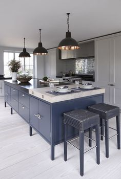 farrow and ball railings kitchen - Google Search