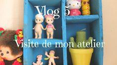 Vlog 5 : Visite de mon atelier