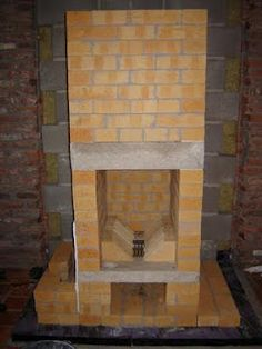 Dutch blog about building a masonry heater yourself
