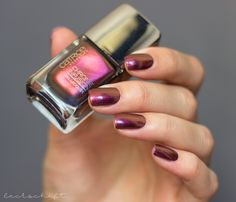 Catrice Sortimentsumstellung Update 2017 chrome infusion  unexpected Red  Duochrome Nails