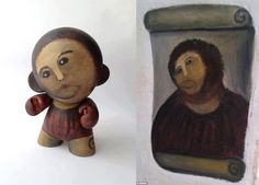The best take on Ecce Homo (after restauration)